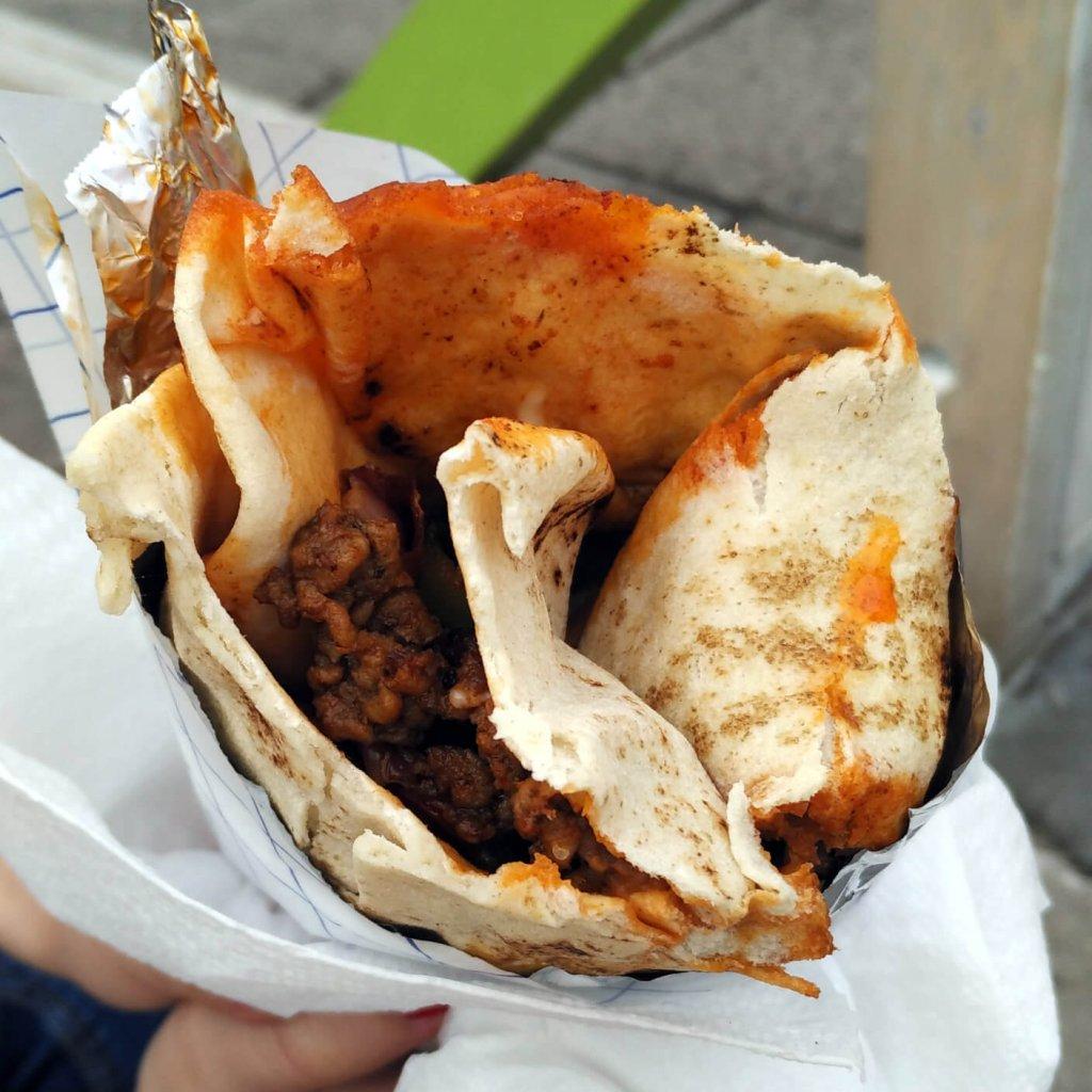 Compadre Food Truck - Burrito 3