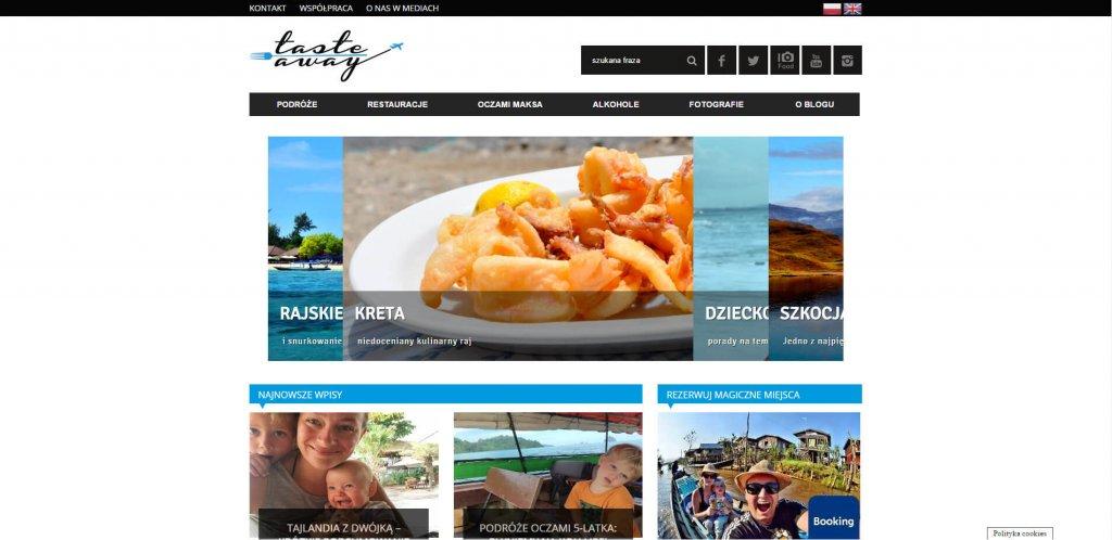 10 blogów na gastronomiczne podboje - TasteAway