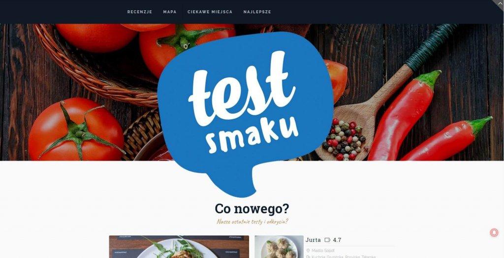 10 blogów na gastronomiczne podboje - Test Smaku