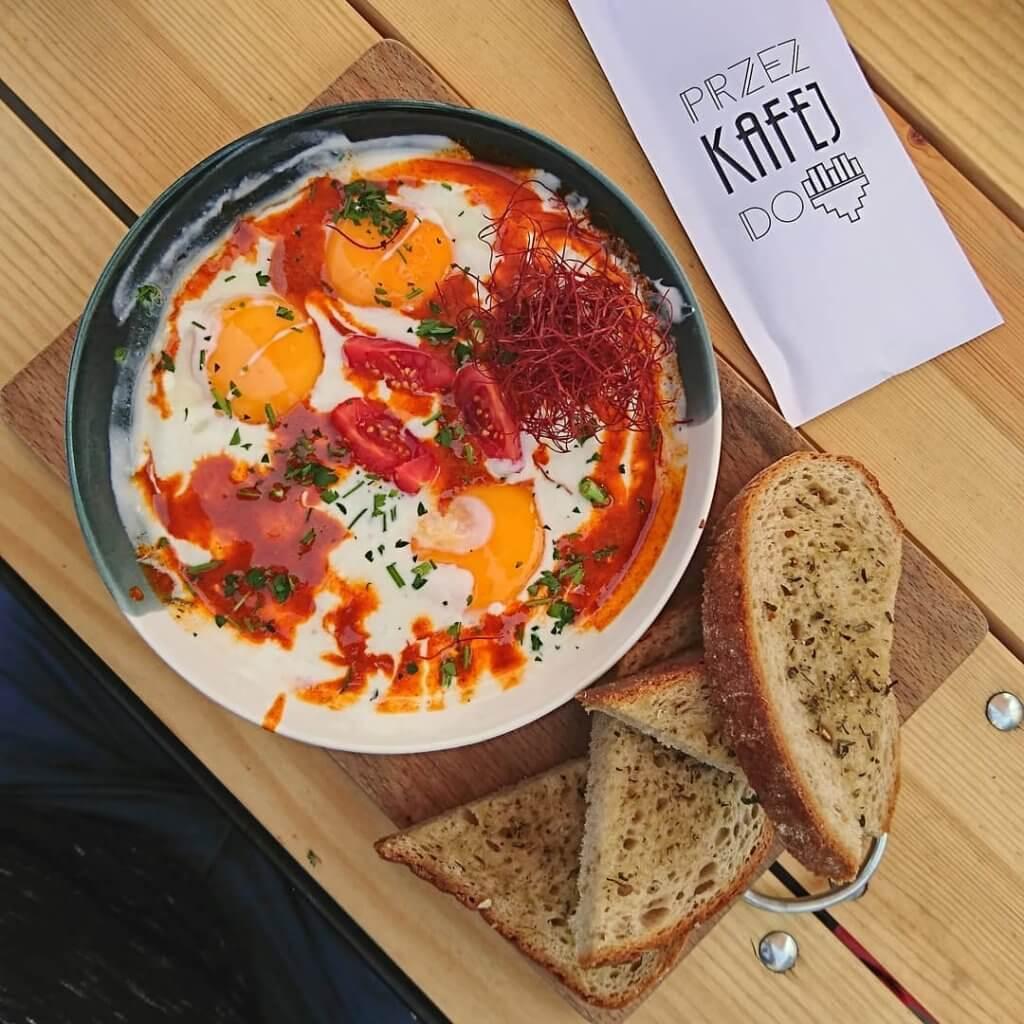 Śniadanie - Kafej - Cilbir
