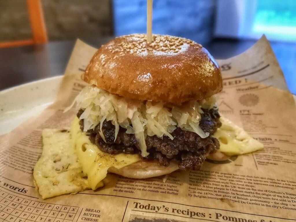 Burgi - Reuben Burger
