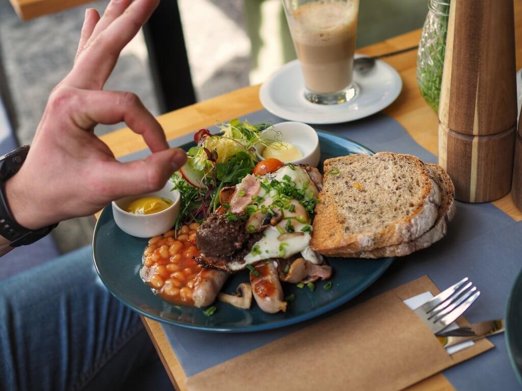 Bistro Krauza - Śniadanie bytomskie