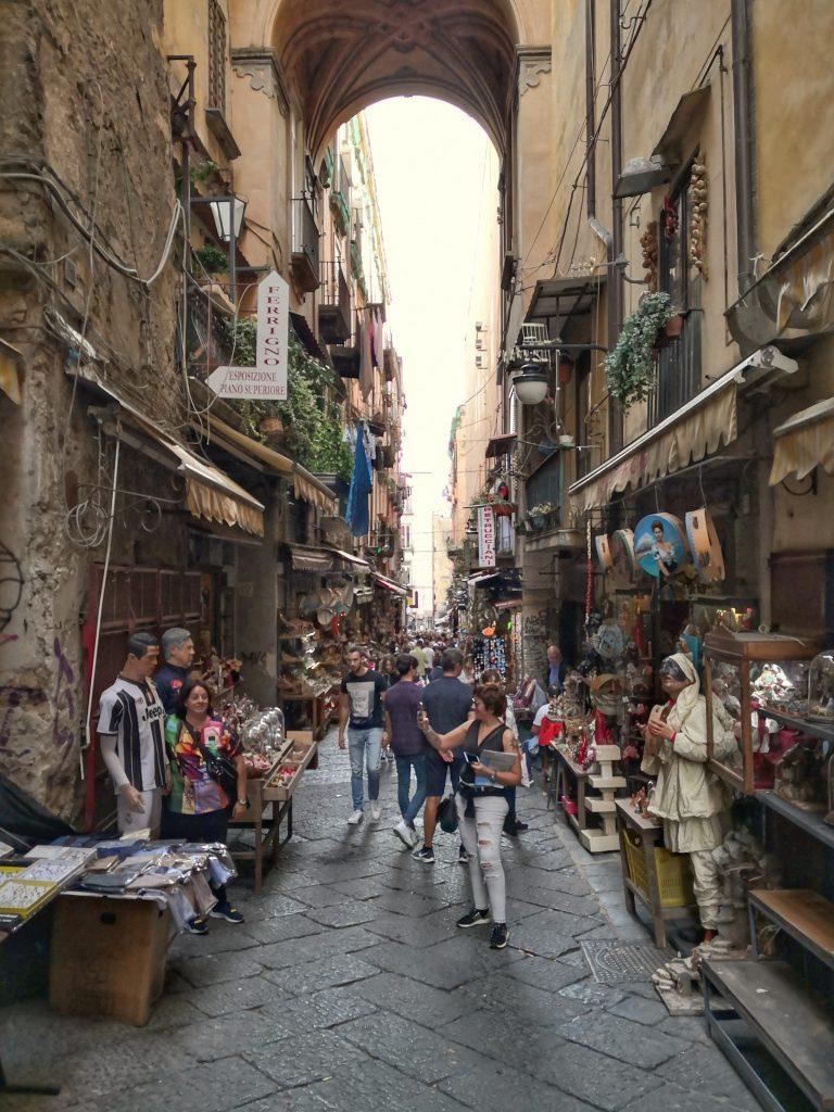 Neapol - Ulica