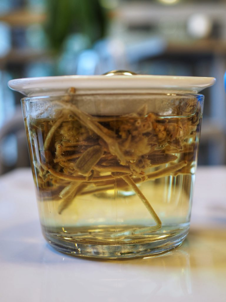 Lunch - Souvlaki herbata